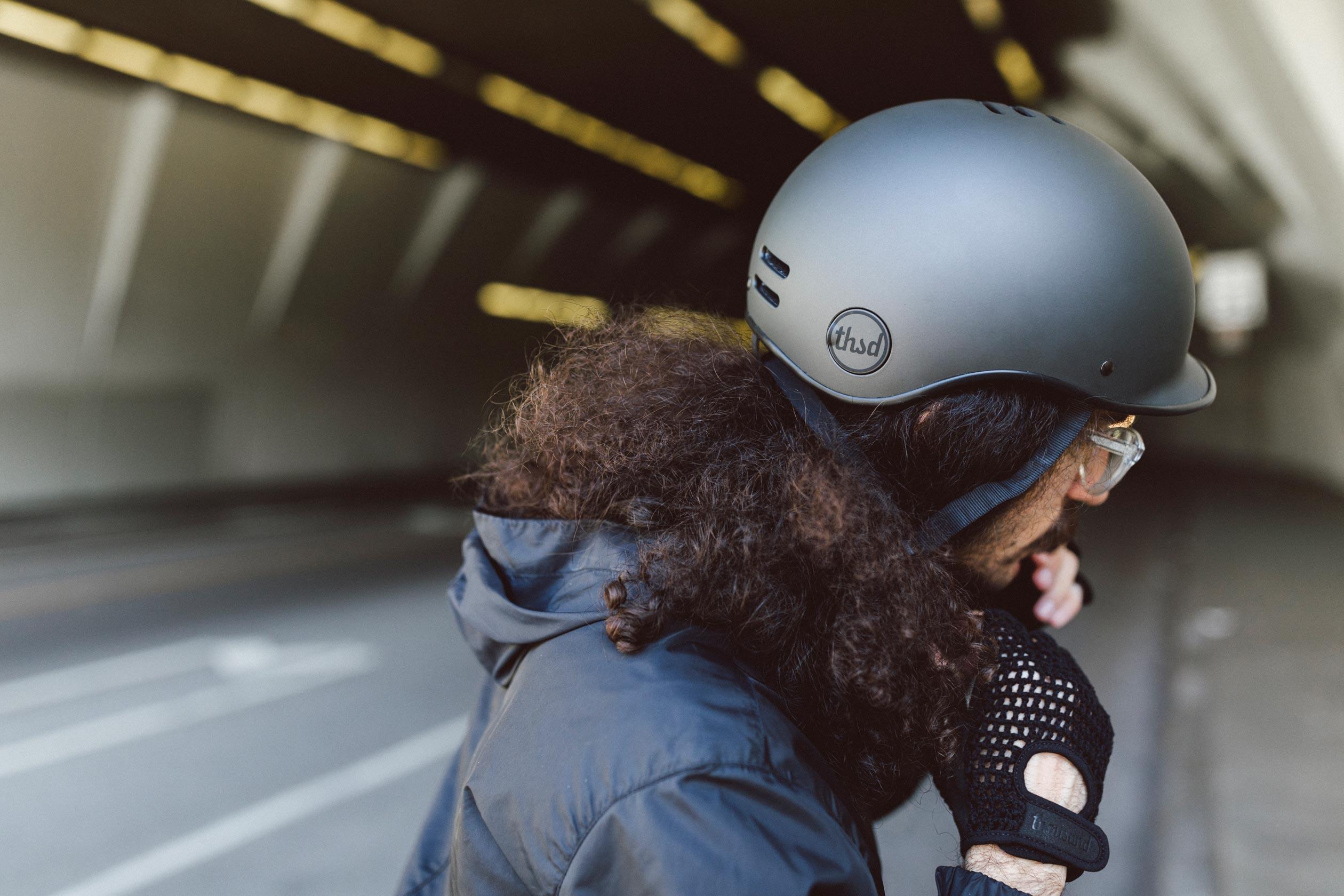 Heritage Bike Helmet, Stealth Black