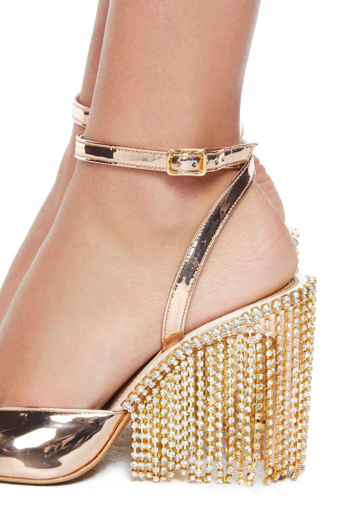 Crystal Chandelier High Heel