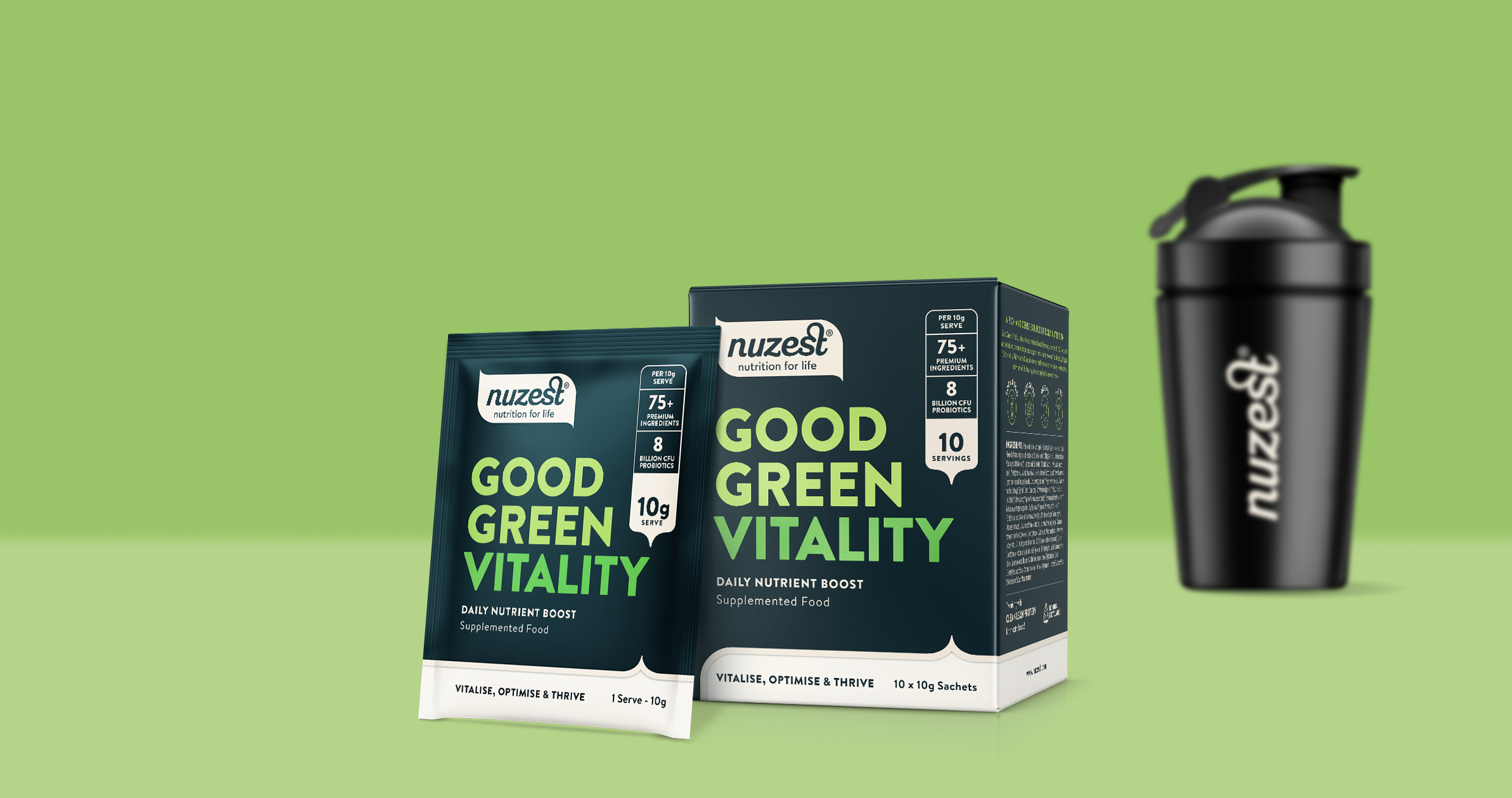 Good Green Vitality Single Serves