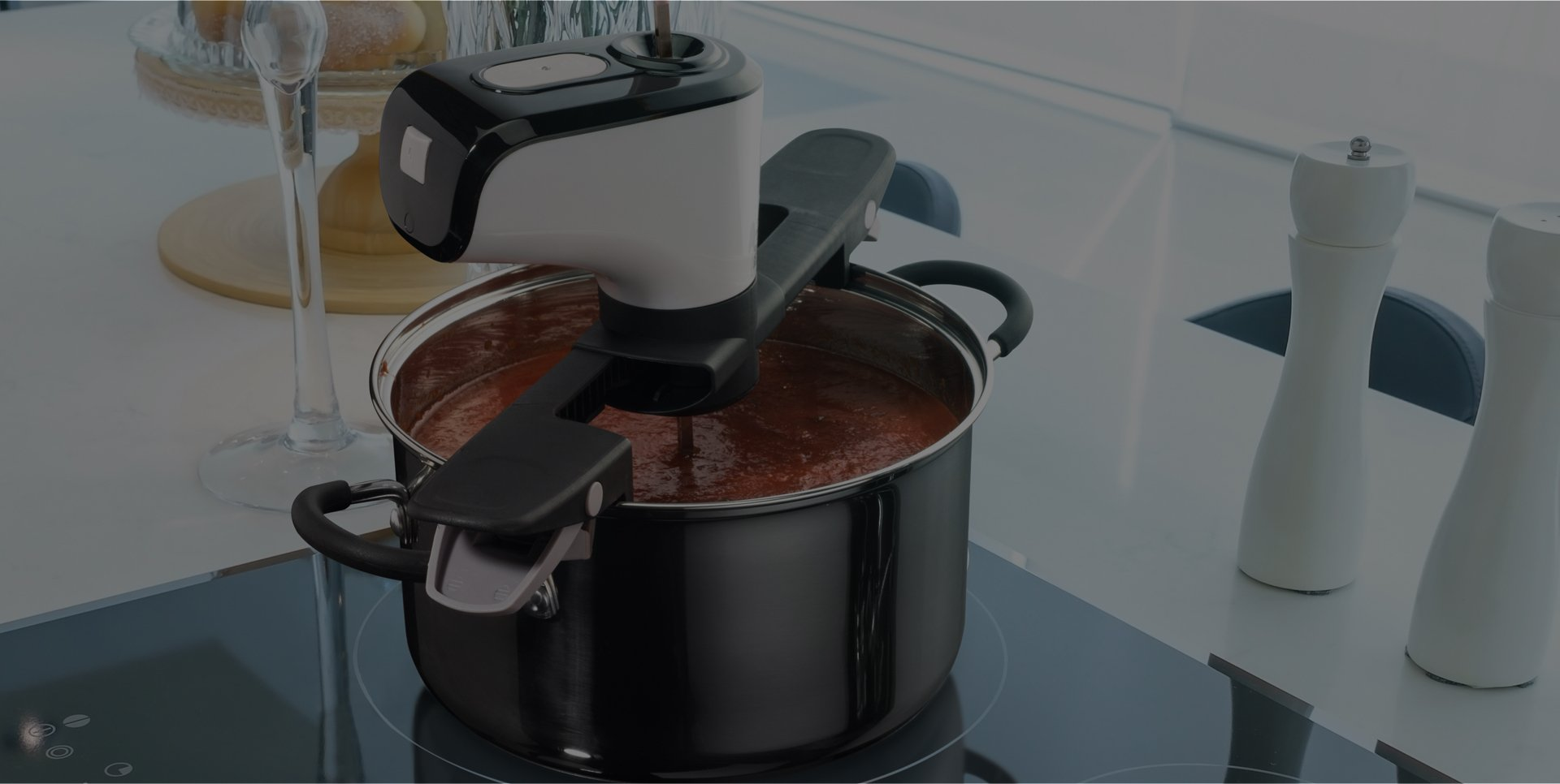 Revolutionize cooking from your couch!