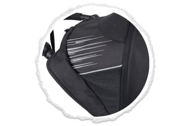 un look sportif avec des tissus 600D durables