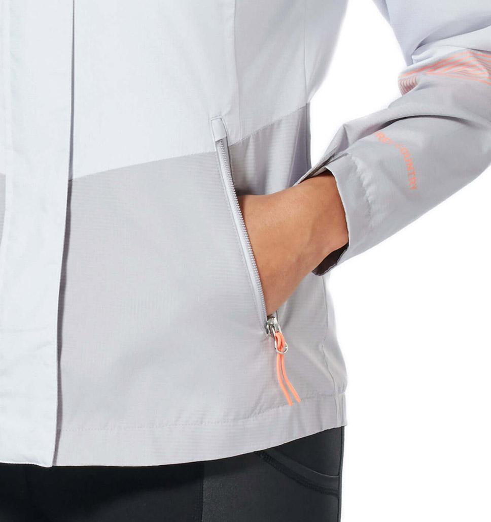 Women's Plus Size Sporty Multi Ripstop Jacket