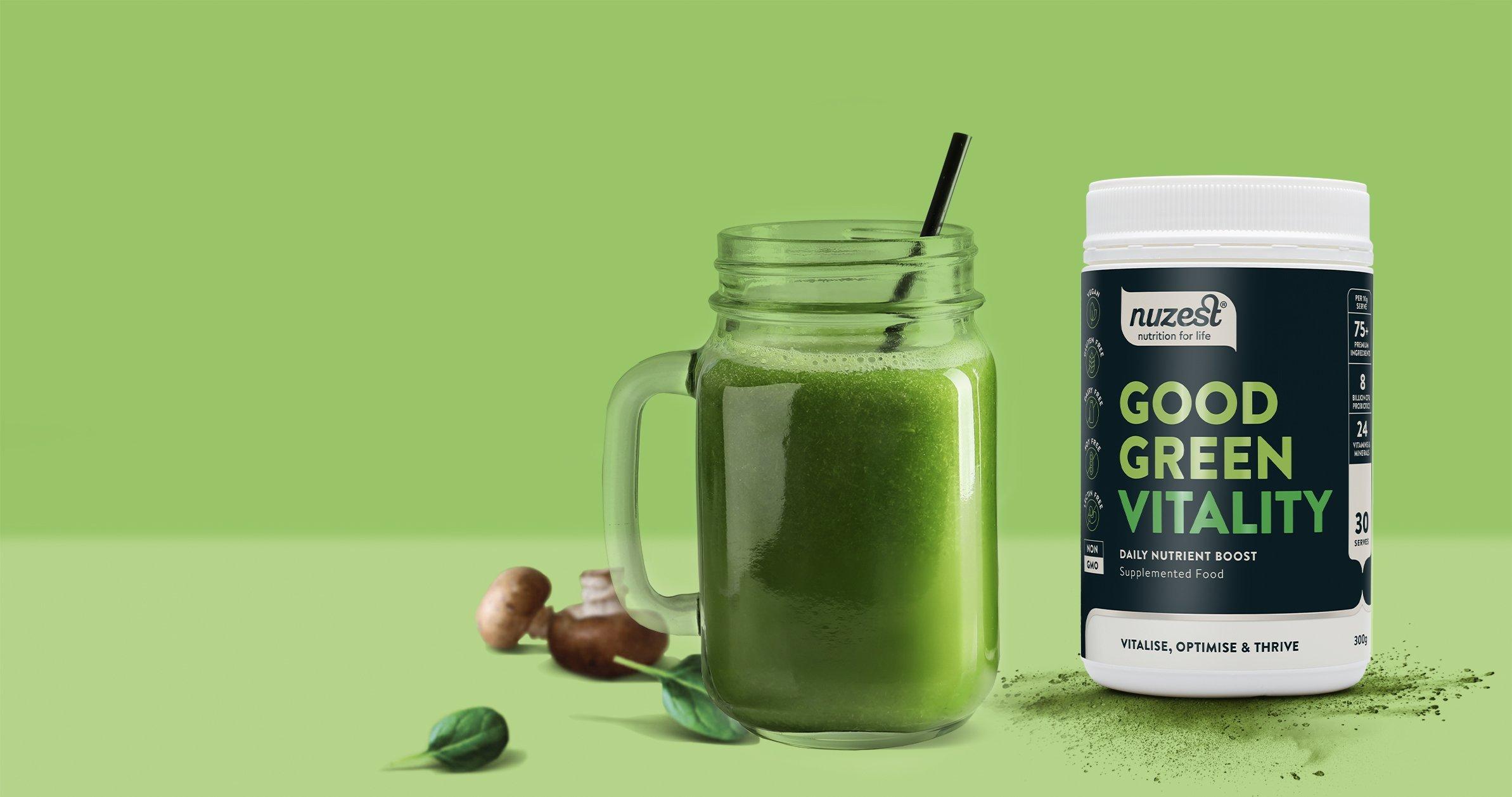 Good Green Vitality Trial Pack