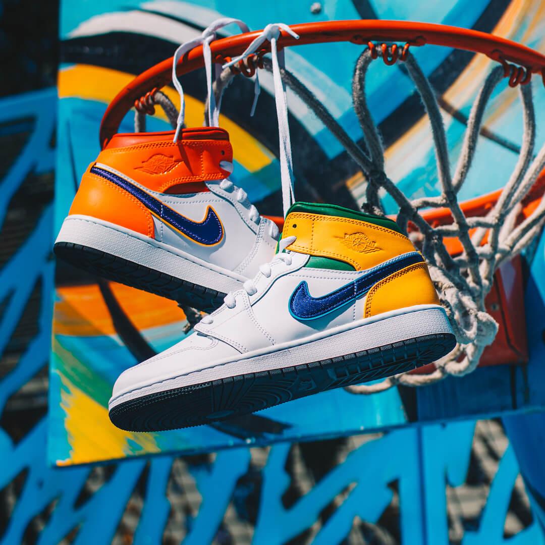 Air Jordan 1 Mid Alternate Multi-Color - 554725-128
