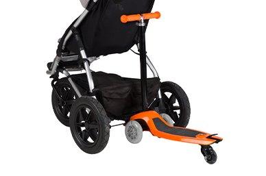 patentierte innovation an einem scooter