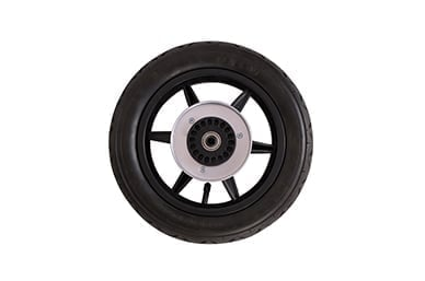 """urban use with 12"""" true air filled, rear wheel tyres are included"""