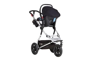 un système de voyage tout terrain pour votre nouveau-né