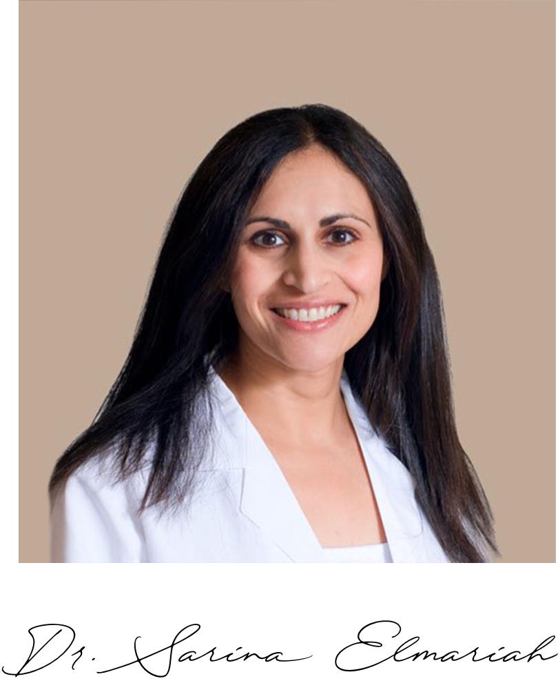 Doctor's Note - — Dr. Sarina Elmariah