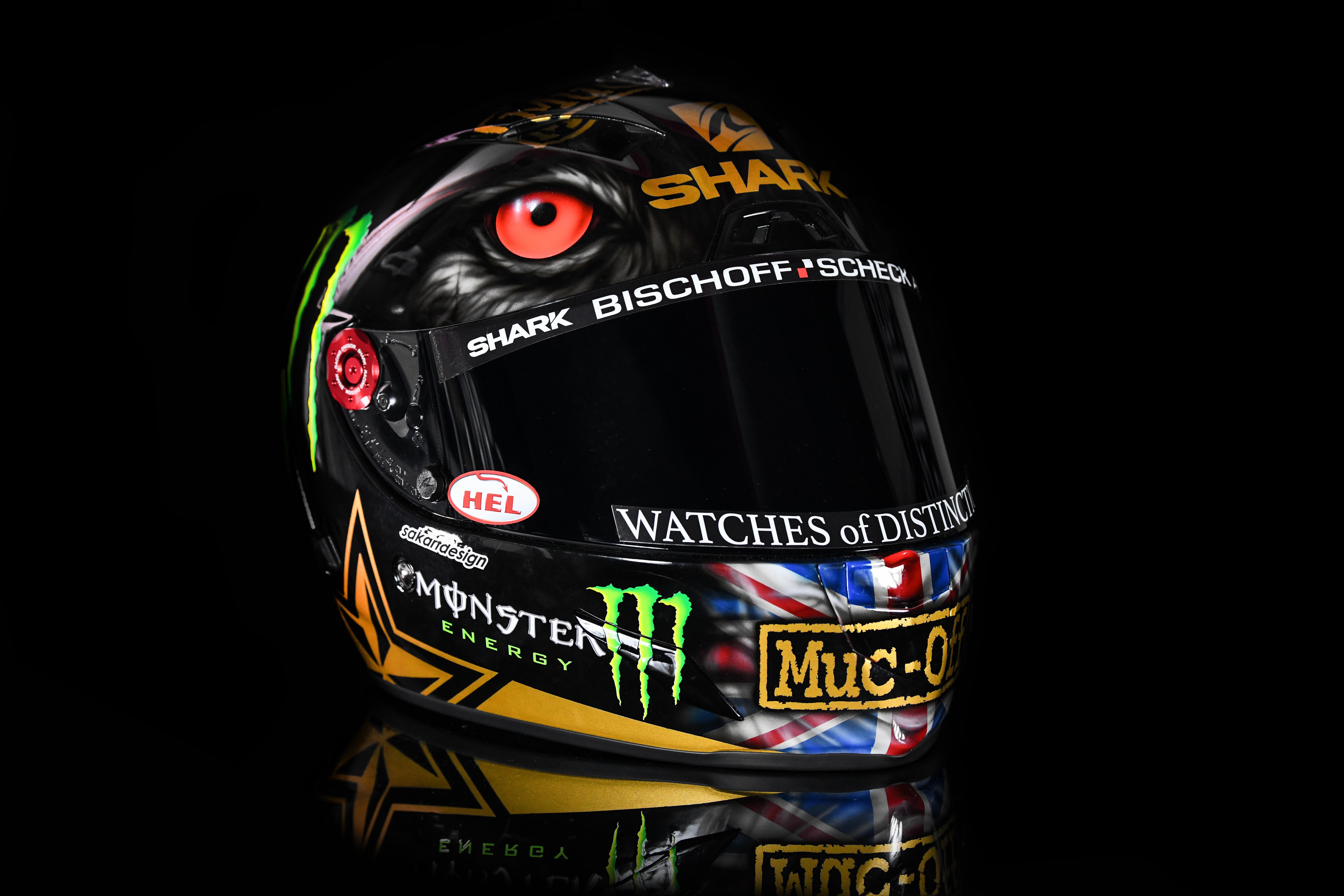 Scott Redding - Custom Helmet Image 1