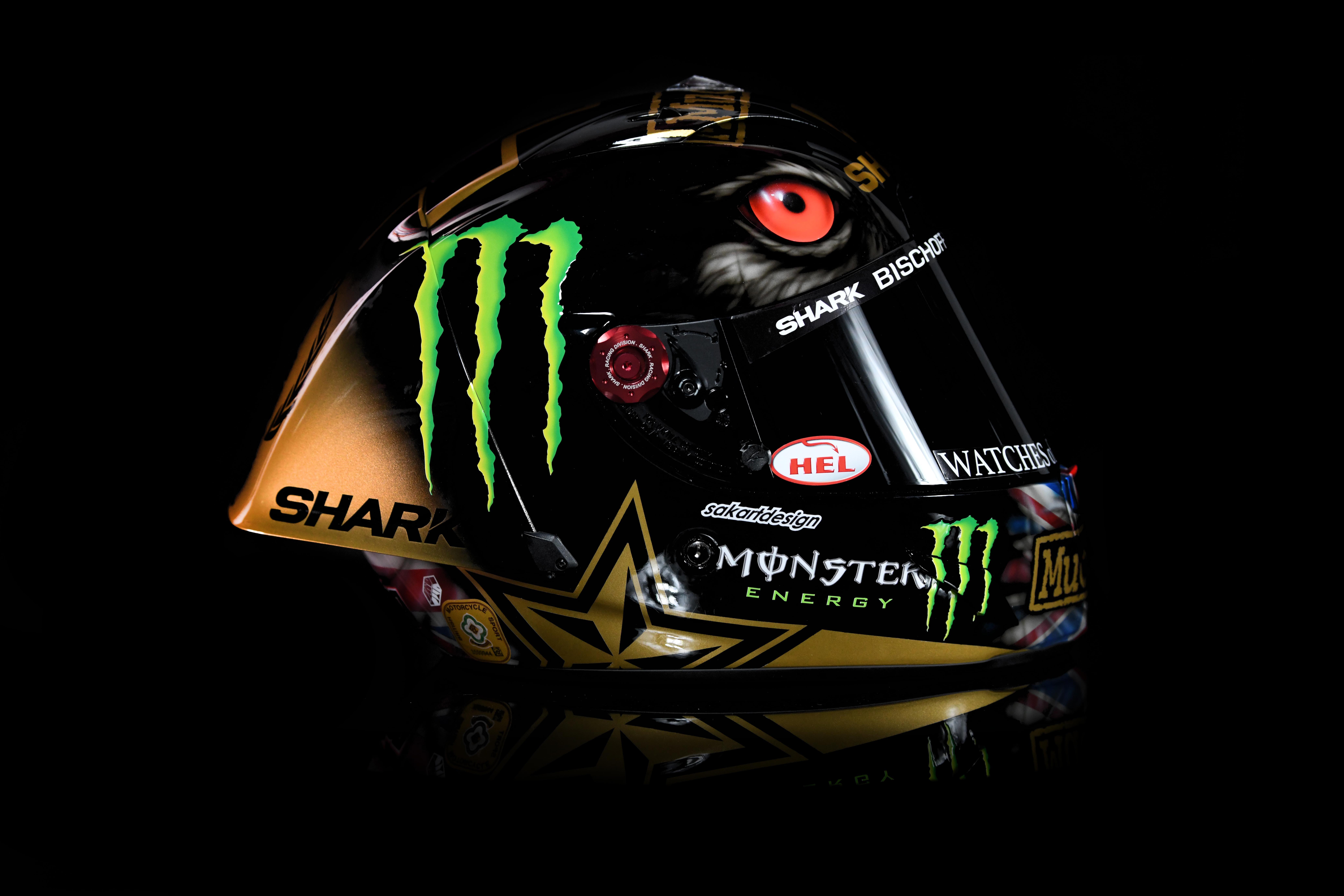 Scott Redding - Custom Helmet Image 3