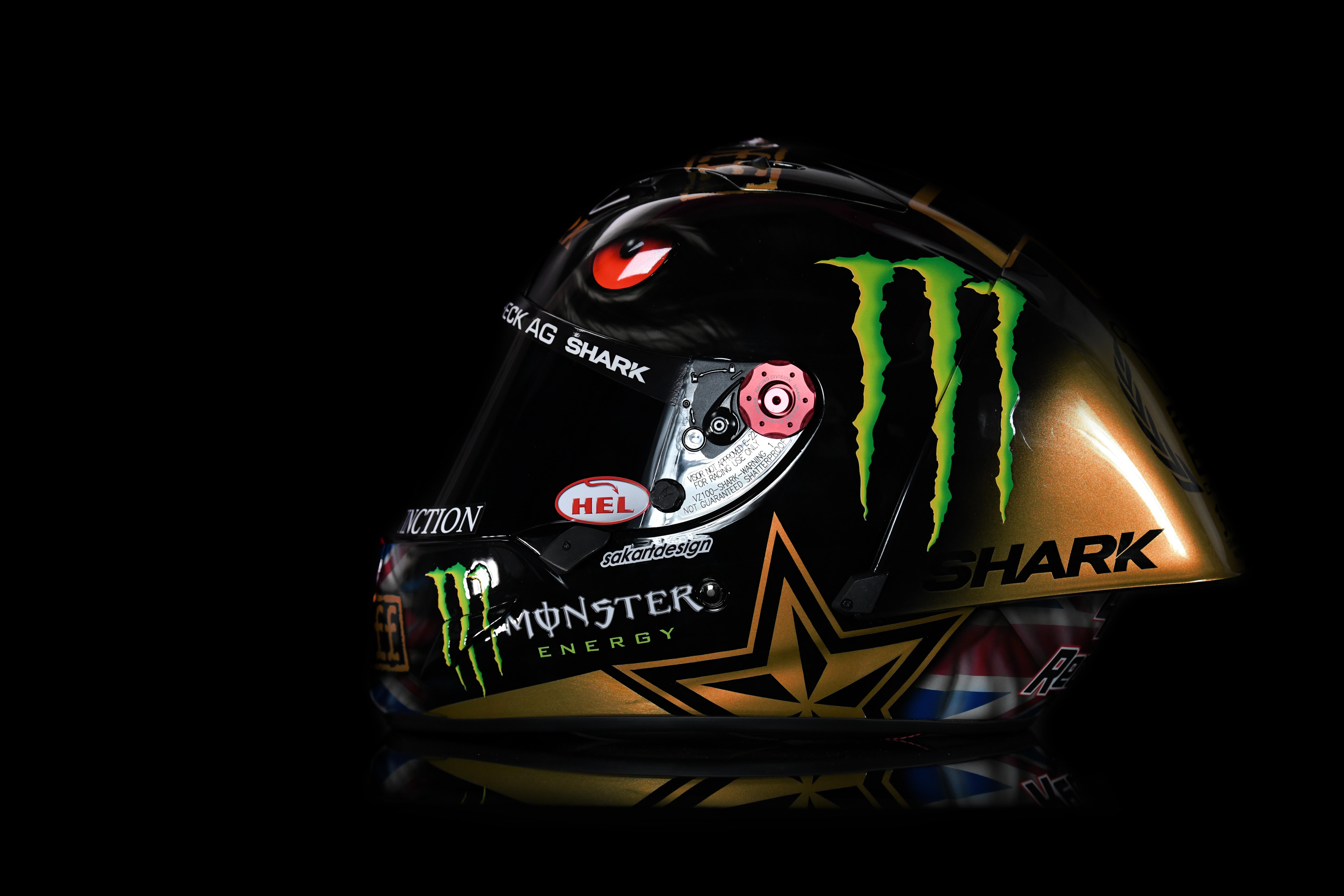 Scott Redding - Custom Helmet Image 6