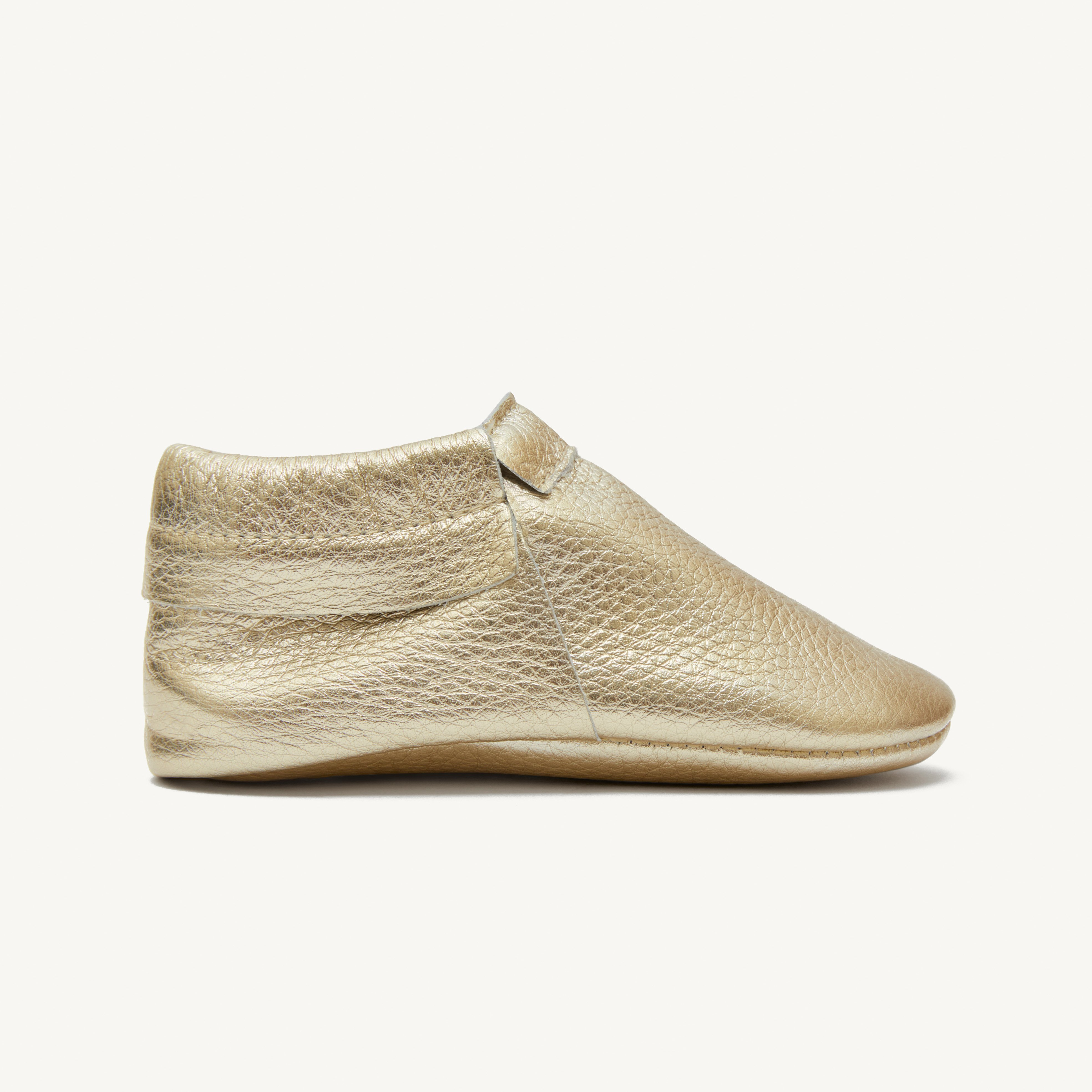 sunny gold baby moccasins