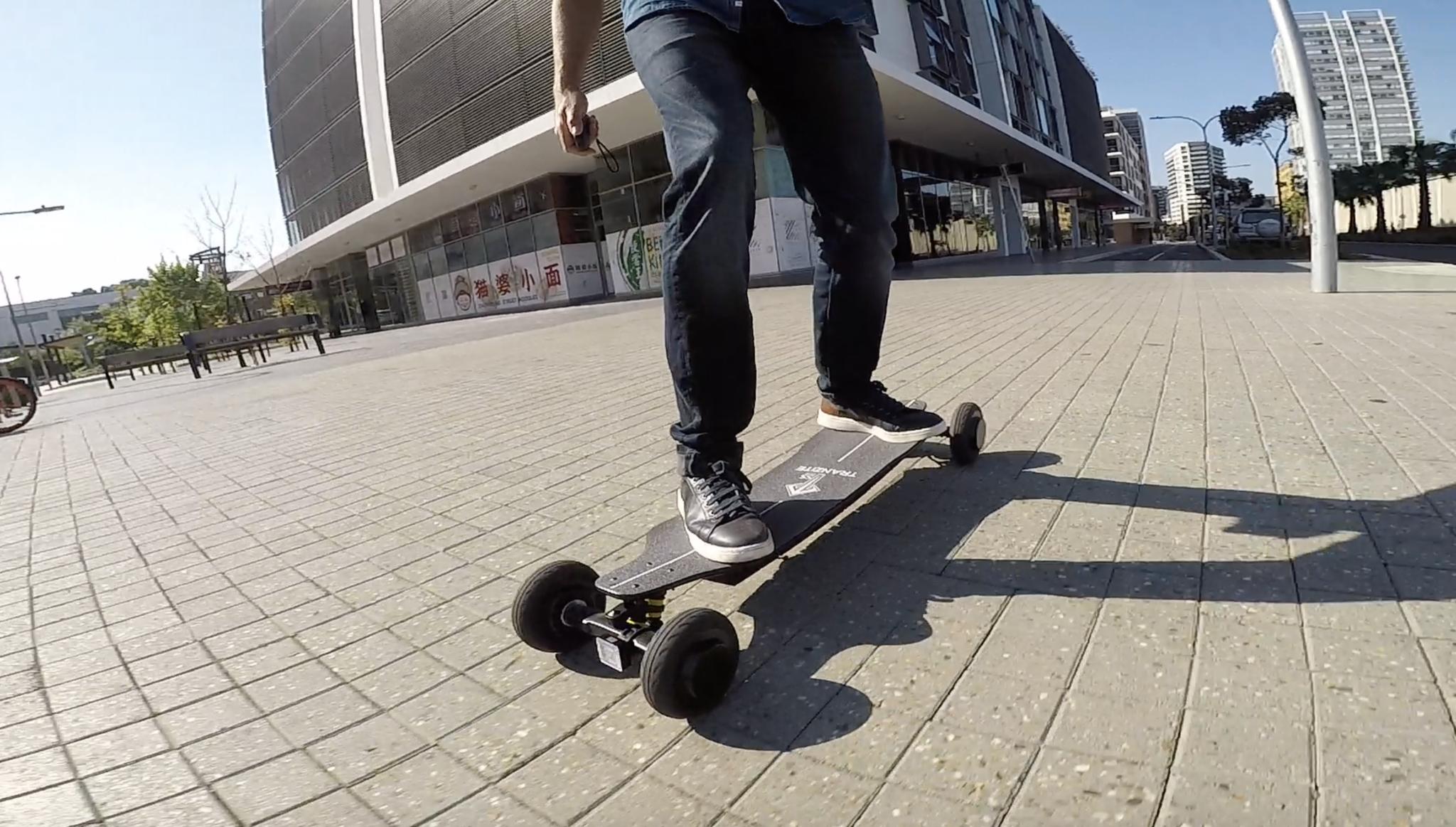 Tranzite GT Black e-Skateboard