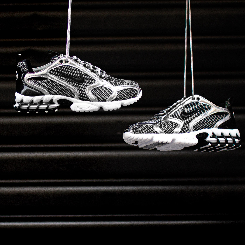 Nike Air Zoom Spiridon Cage 2 Stussy Pure Platinum
