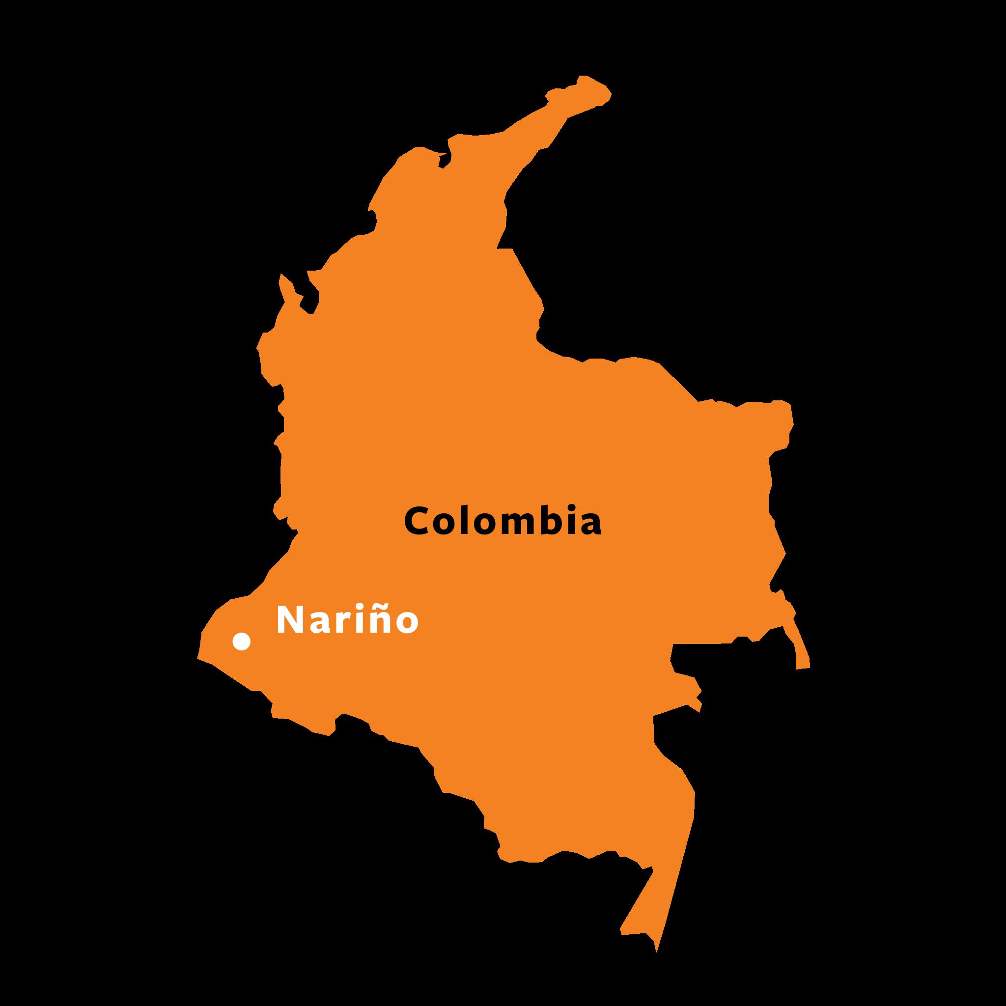 Map of La Florida, Nariño, Colombia