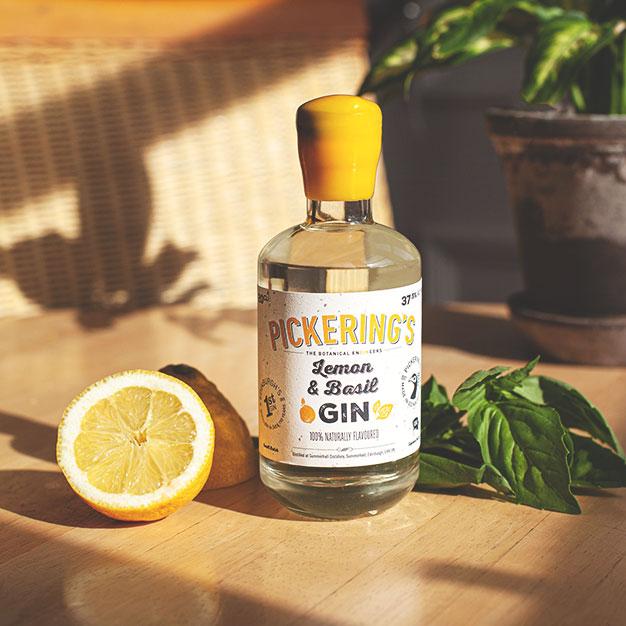 Lemon & Basil Gin
