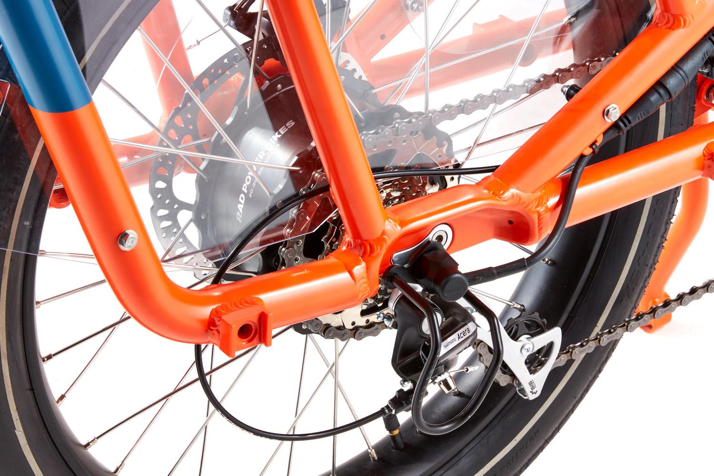 RadWagon Electric Cargo Bike Version 4 key feature 3