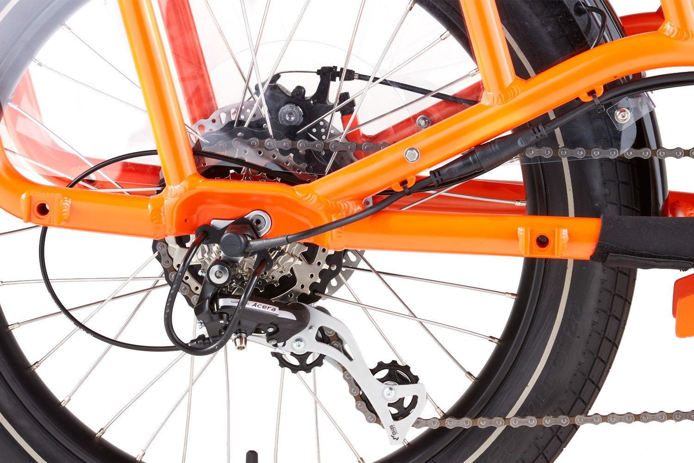 RadWagon Electric Cargo Bike Version 4 key feature 6