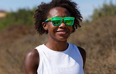 Sunglasses size on model