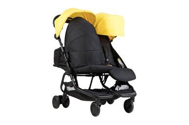 solution de couchage à plat pour un ou deux nouveau-nés