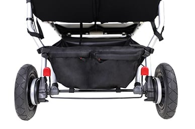 great storage space with the roomy gear tray and zip pockets