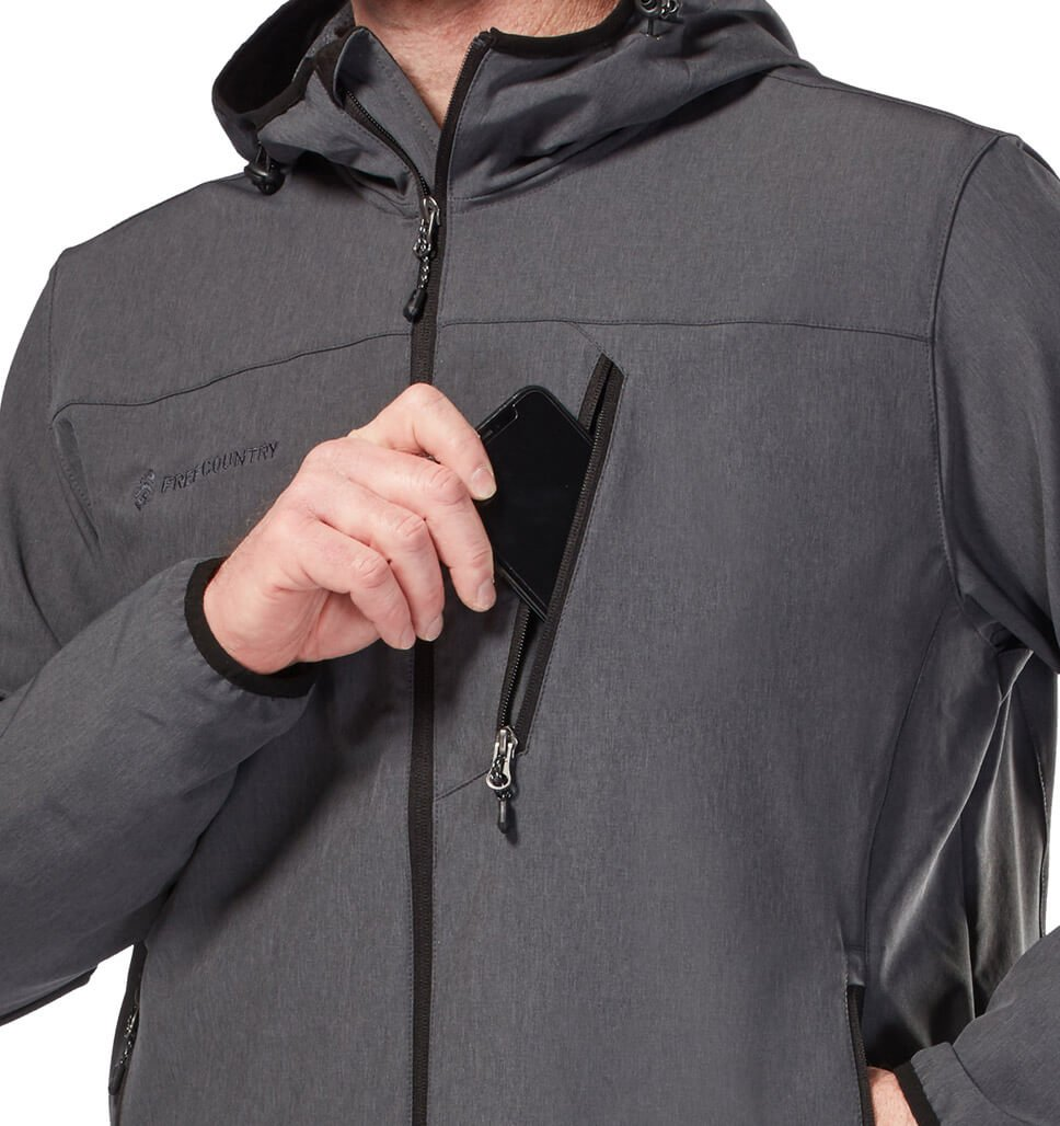 Men's Light Weight Aerobic Softshell Jacket