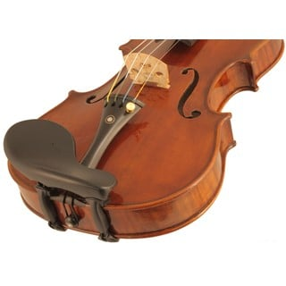 Wittner Zuerich Violin Chinrest in action
