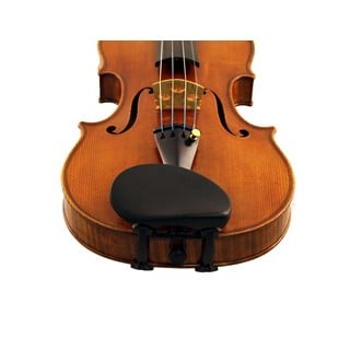 Wittner Augsberg Violin Chinrest in action