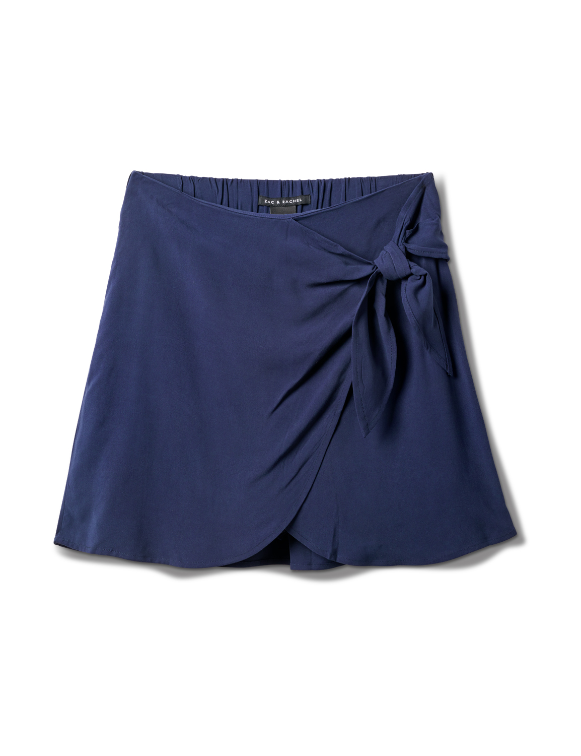 Pull On Skort with Back Elastic -Navy - Front