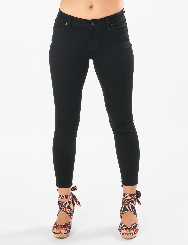Westport Signature 5 Pocket Skinny Jean -Black - Front
