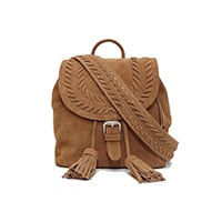 SAC À DOS XS JOURDAN - DAIM INDIAN TAN