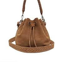 SAC SEAU MINI PAULETTE - DAIM INDIAN TAN
