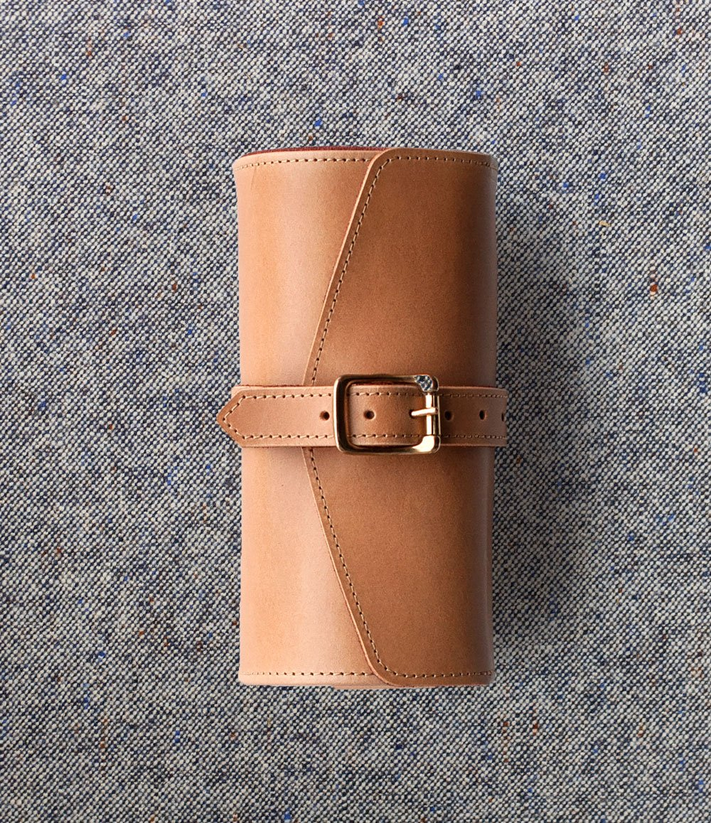 Buttero Leather Watch Roll