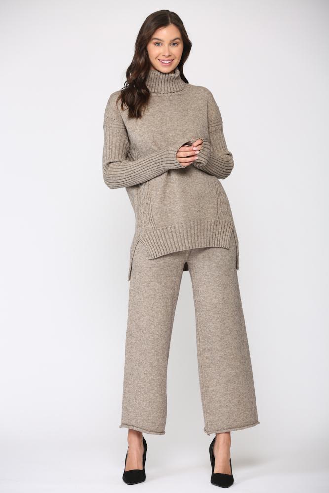 Sabrina Sweater -Mocha - Front