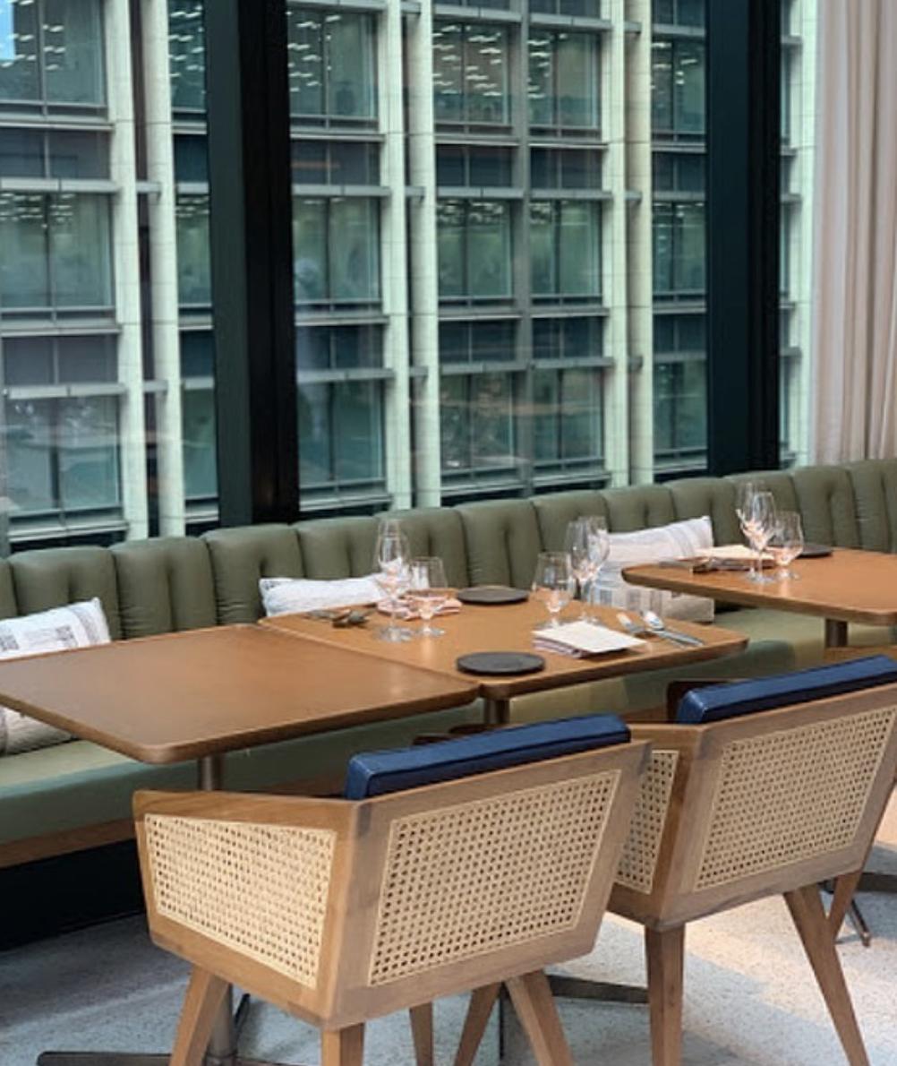 The Upper Restaurant Tokyo by Luchetti Krelle