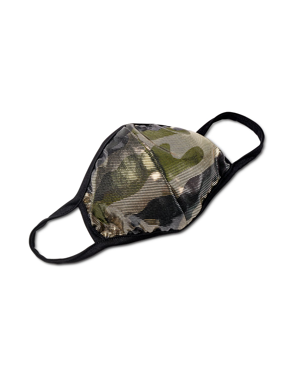 Pre-Order Camouflage Foil Fashion Mask -Neutral - Front