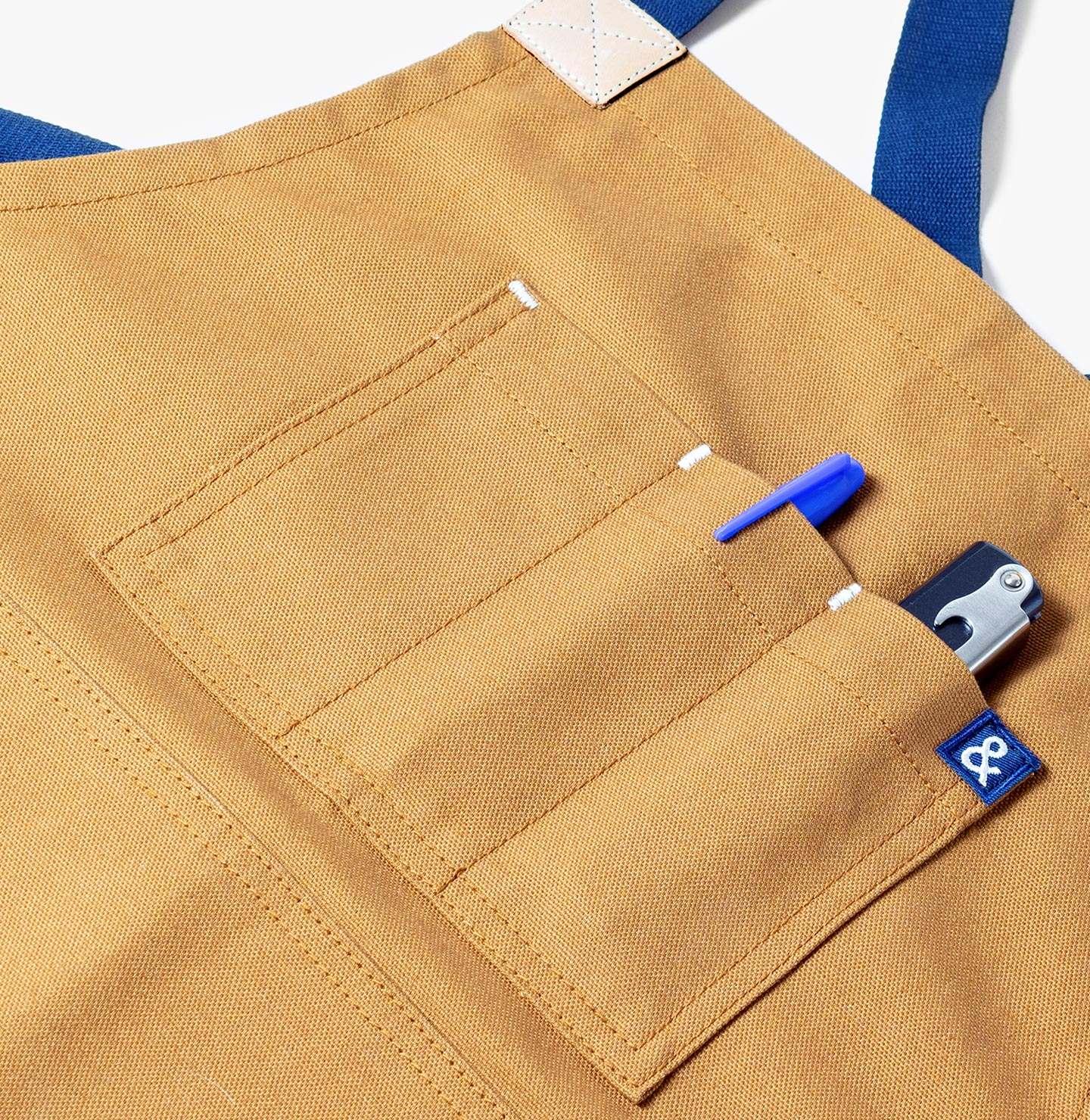 Triple Pen Chest Pocket