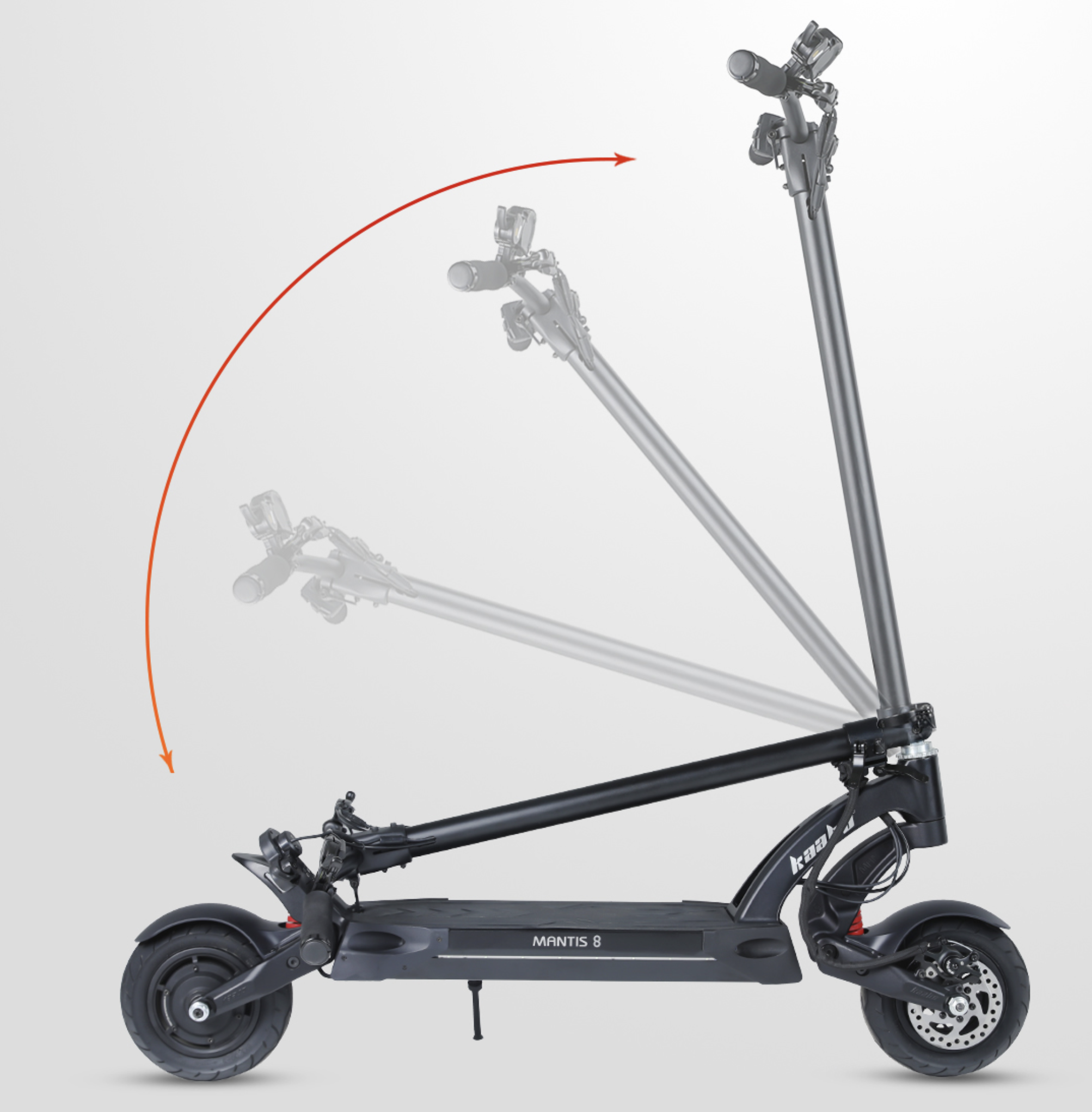 Kaabo Mantis 8 Duo Dual Motor Electric Scooter