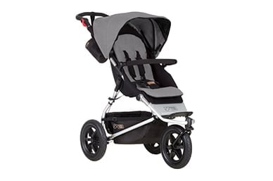 a comfortable sized buggy at only 11kg, for on and off road adventures