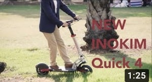 INOKIM Quick 4 - All Round 25 mph electric scooter