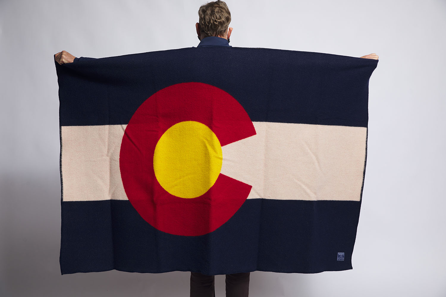 image of Colorado Flag Wool Throw
