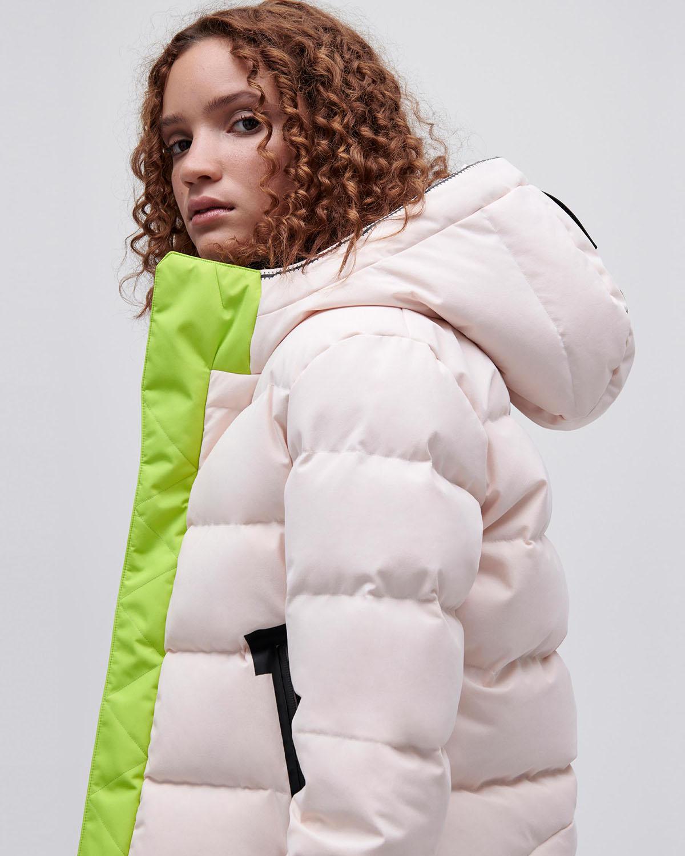 Women's BIO Puffer Jacket Cropped