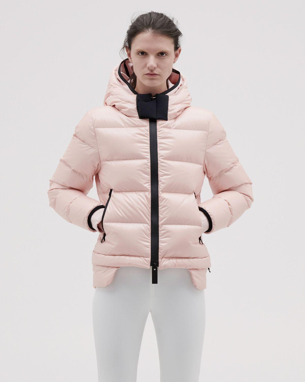 Women's 10K Nano Gloss Puffer Jacket Cropped
