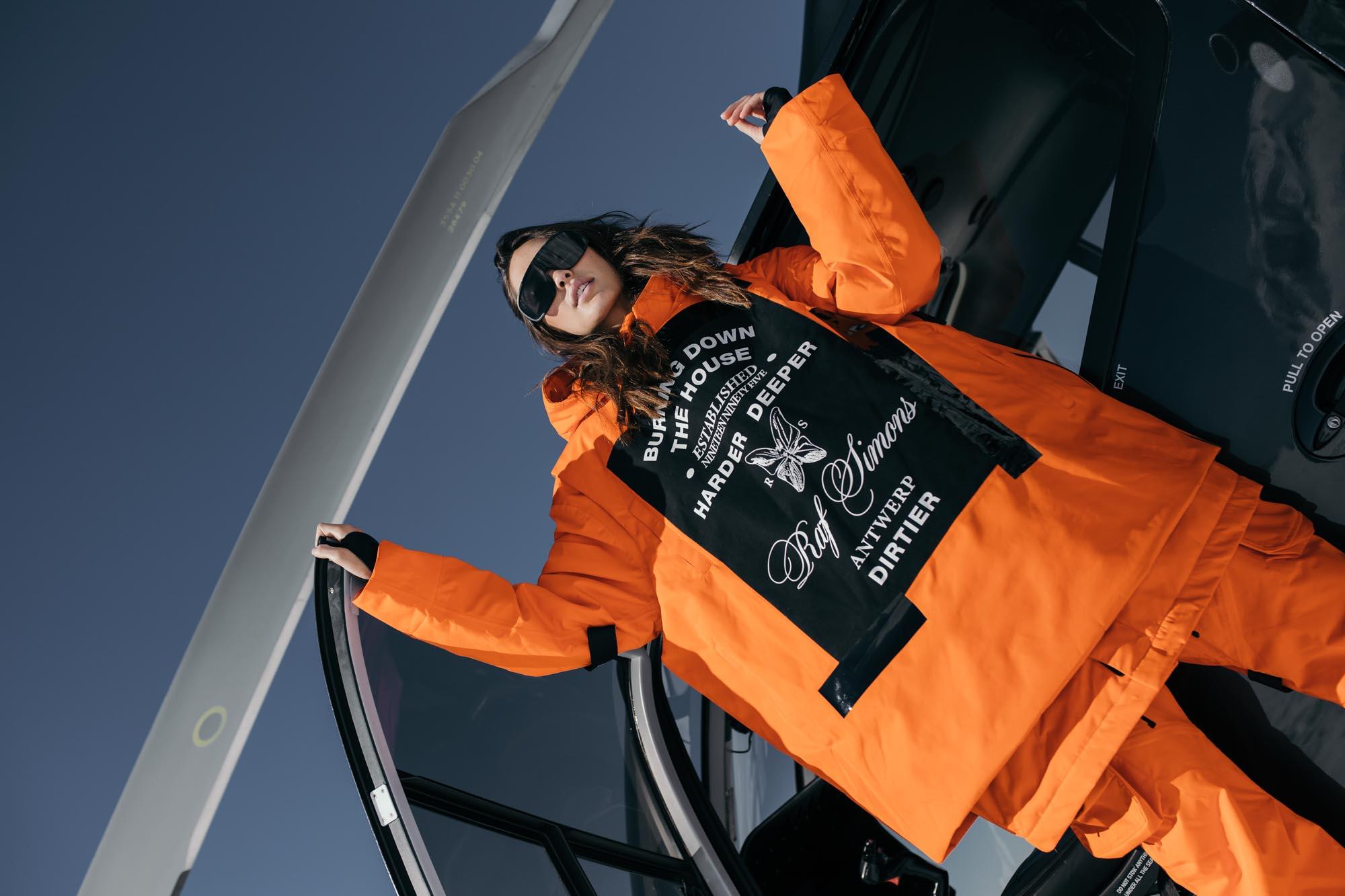 Raf Simons X Templa - Women's Oversized Wadded Ski Tank