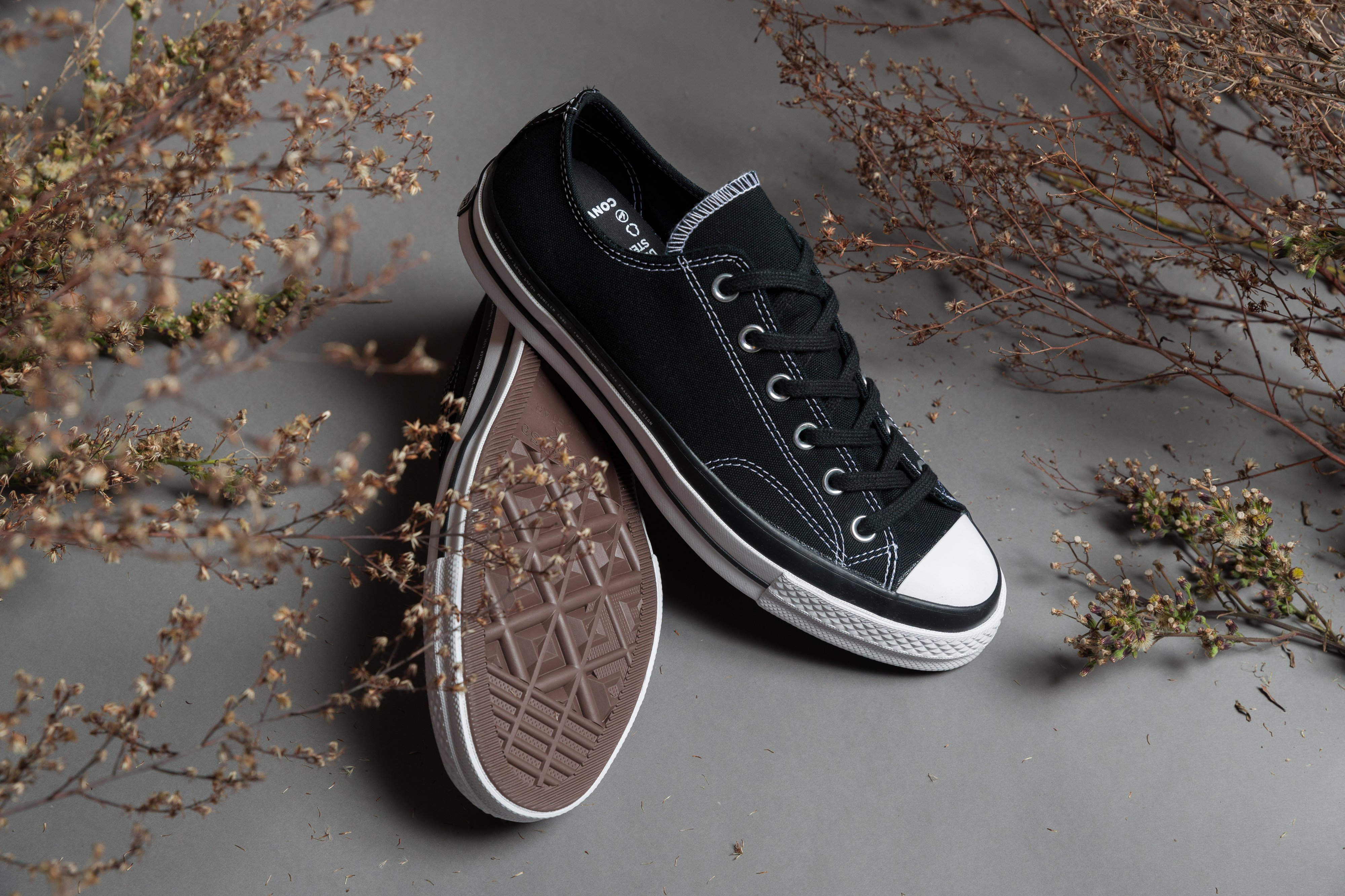 Converse - CT 70 x Fragment x Moncler - Black - Up There
