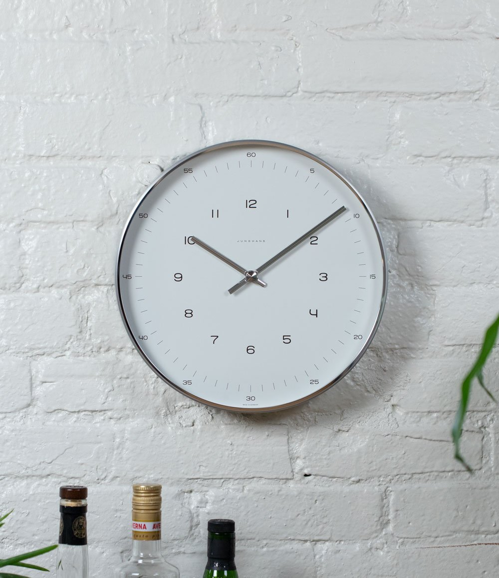Max Bill 12 Inch Wall Clock
