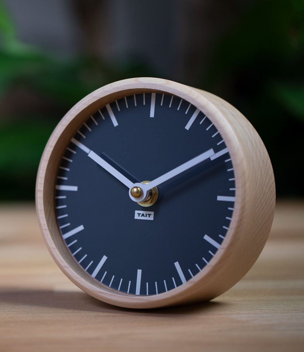 Wood Desk Clock