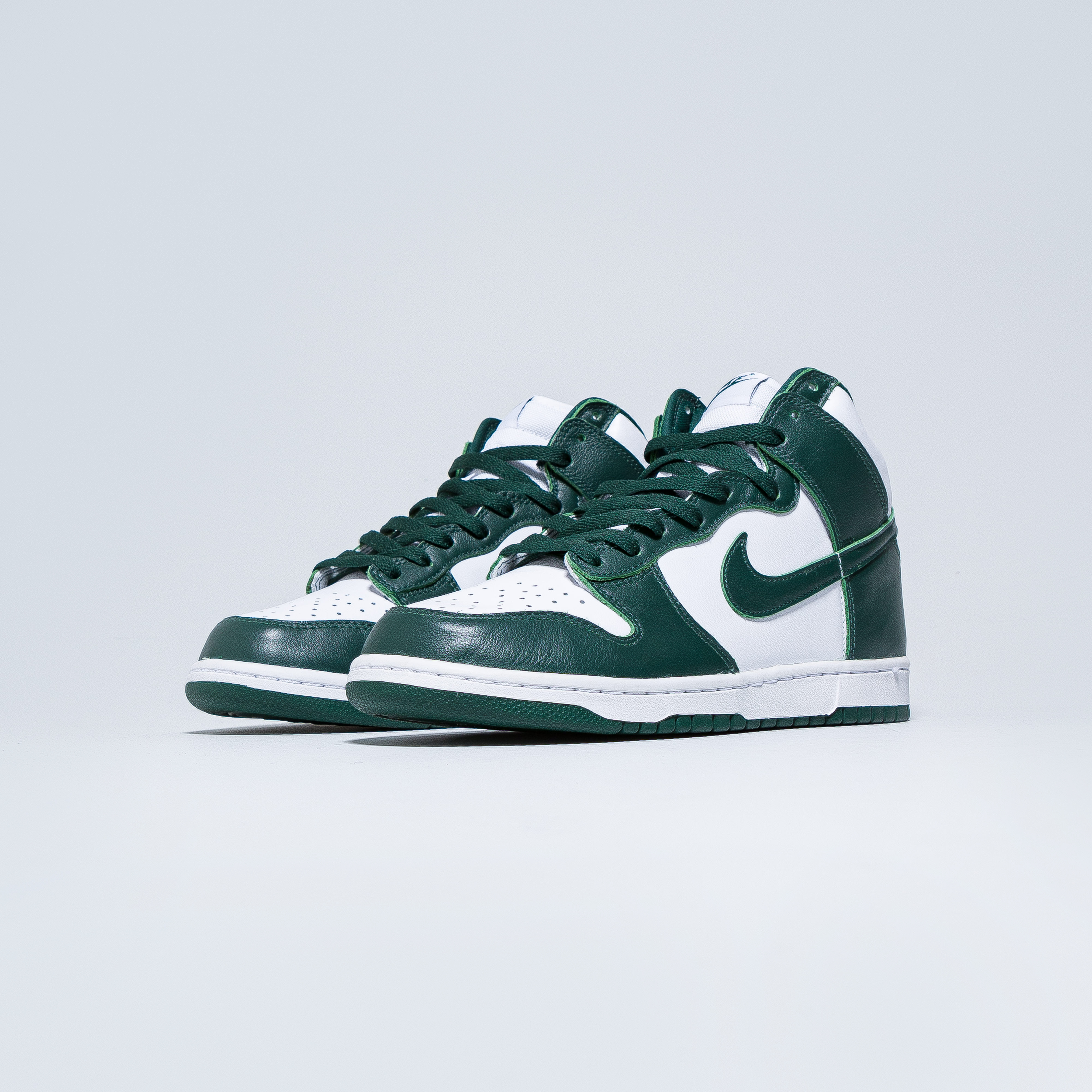 Nike - Dunk Hi SP - White/Pro Green-Pro Green - Up There