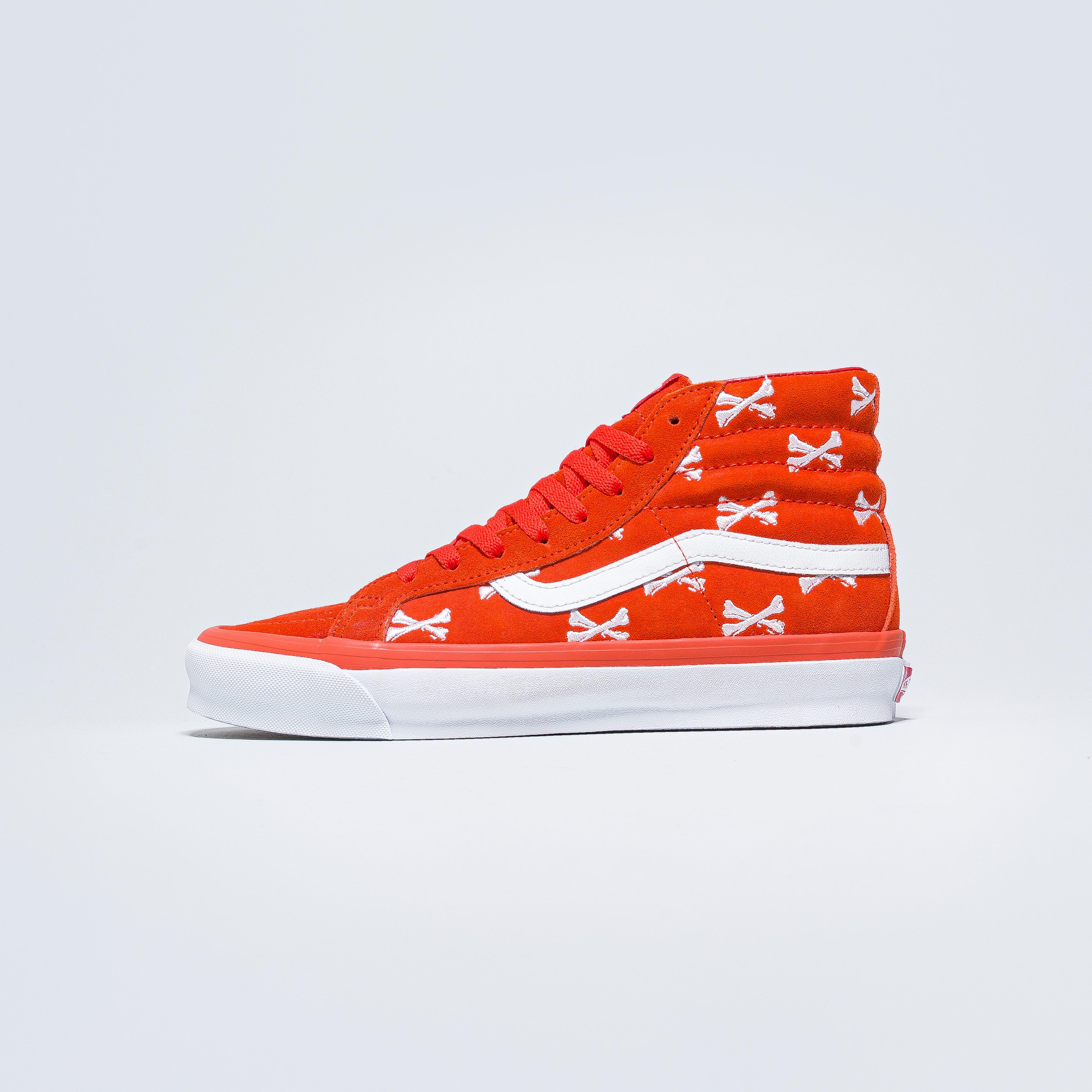 Vans - OG Sk8-Hi LX x Wtaps - Bones/Orange - Up There