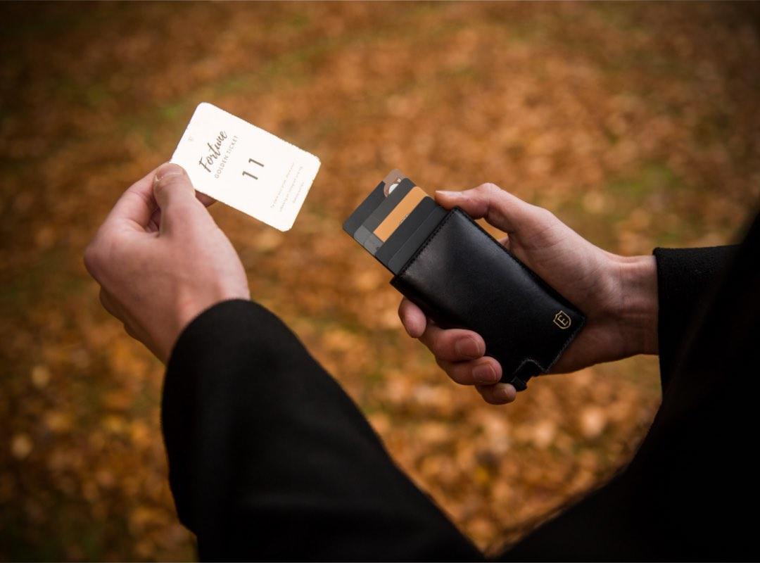 Aluminum Cardholder Wallet